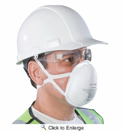 SoftSeal 16-90004  N95 Respirator with Valve - Large