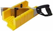 "Stanley 20-600 Clamping Mitre Box with 14"" Saw"