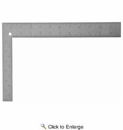 "Stanley 45-912  12"" x 8"" Steel Square"