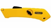 """Stanley STHT10193  Safety Knife 6-1/2"""" Black and Yellow"""