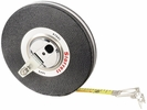 "Starrett 530-100  3/8"" x 100' Closed Reel Steel Long Tape Measure with Steel Case (65946)"