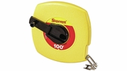 "Starrett KTS510-100-N  3/8"" x 100' Closed Reel Steel Long Tape Measure with ABS Plastic Case (30622)"