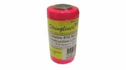 Stringliner  35162  250' Braided Nylon Construction Line Fluorescent Pink 1/4-lb. Replacement Roll