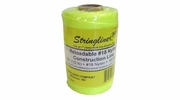Stringliner  35450  500' Braided Nylon Construction Line Yellow 1/2-lb. Replacement Roll