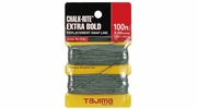 Tajima PL-ITOL  Chalk-Rite Replacement 1.0 mm Extra Bold Snap-Line - 100 ft. Braided Line