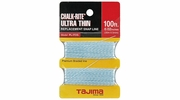 Tajima PL-ITOS  Chalk-Rite Replacement 0.5 mm Ultra Thin Snap-Line - 100 ft. Braided Line