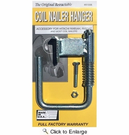 ToolHangers 81006  Coil Nailer Hanger – Yellow Packaging