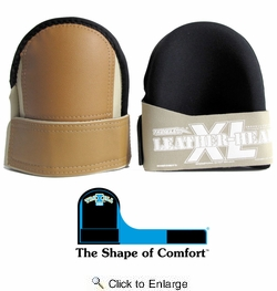 Troxell 17-209SOFTXL  Super Soft Knee Pads Leather Head- Large