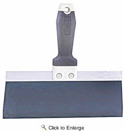 """Wal-Board  18-030  10"""" Tuff Grip Taping Knife With Blue Steel Blade"""