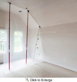 ZipWall KT20  20' Spring-Loaded Poles for Dust Barriers - 2-per Package
