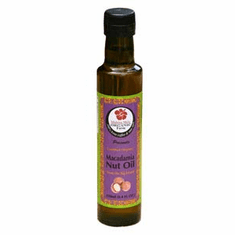 Certified Organic Macadamia Nut Oil                8.5 fl oz (250 ml)