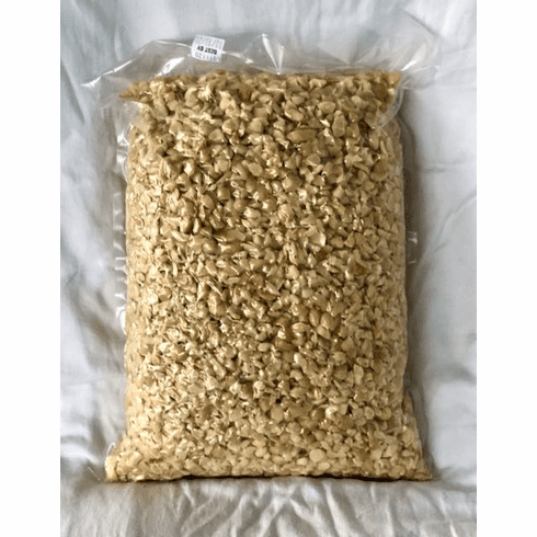 SOLD OUT!! Fresh and Ready! Organic Macadamia Nut Chips 4  Lb Bulk Bag