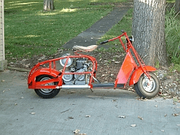 1948 Cushman Scooter #2  (COLOR) SG104 SHIMRIN
