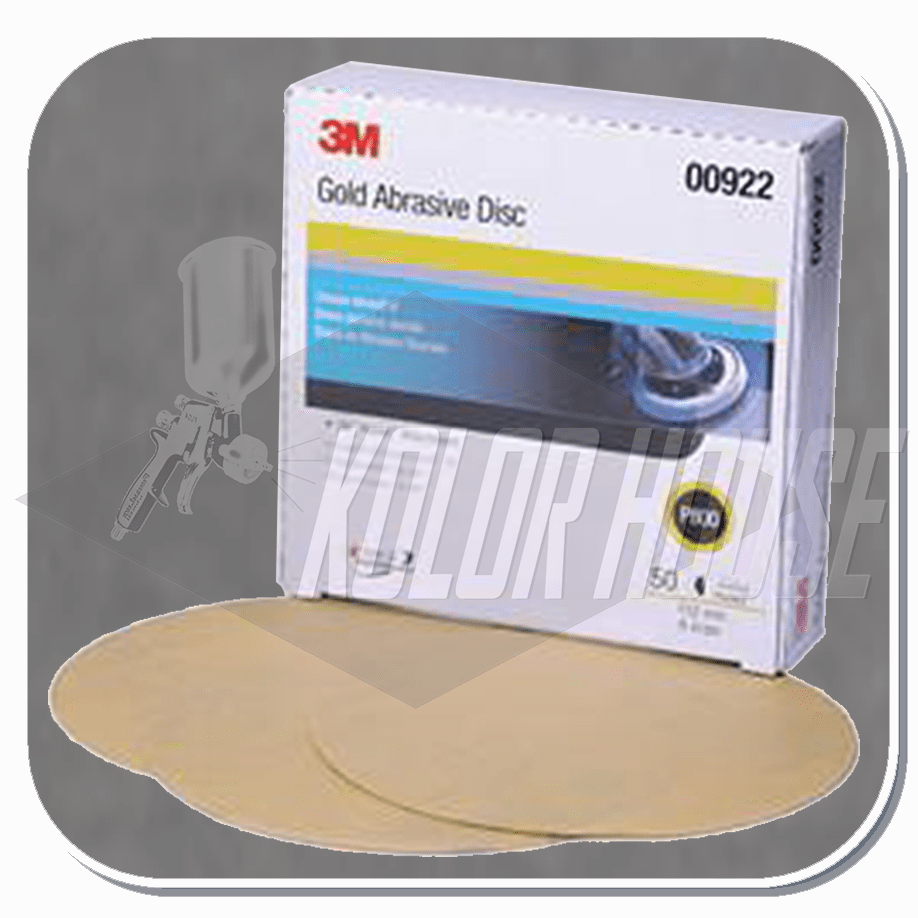 3M 6 in, P800A, Hookit Gold Paper Disc 216U, 50 discs per box