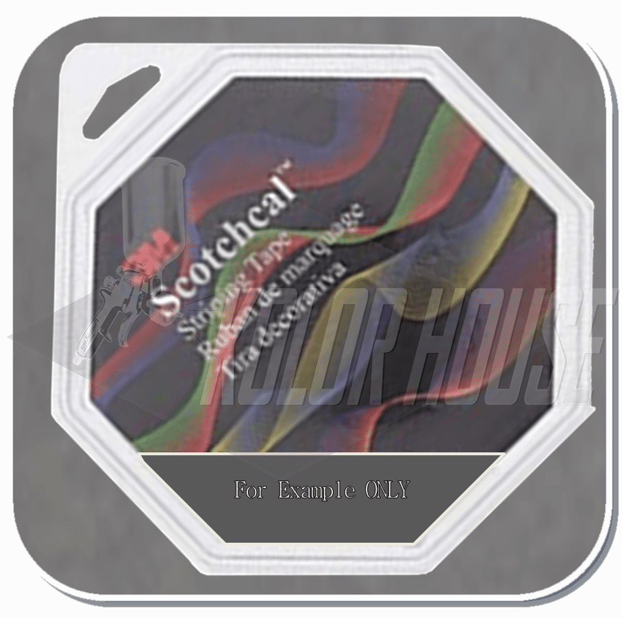 3M™ Scotchcal™ Striping Tape,  Light Charcoal Metallic, 3/16 in x 150 ft (upc code-00051141720500)