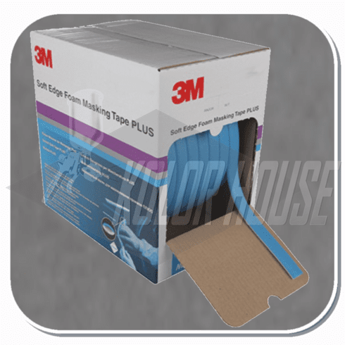 3M™ Soft Edge Foam Masking Tape +, 06293,  21mm x 49m, 1 per case (upc code-00051131062931)