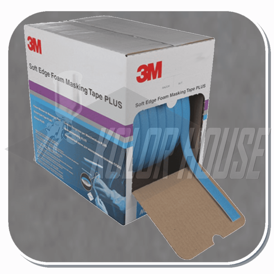 3M� Soft Edge Foam Masking Tape +, 06293,  21mm x 49m, 1 per case (upc code-00051131062931)