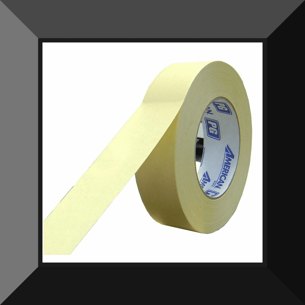 AME-PG3655 AMERICAN TAPE 1-1/2in MASKING TAPE SOLD BY THE ROLL 24 ROLLS PER CASE