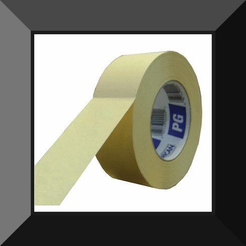 AME-PG4855 AMERICAN TAPE 2in MASKING TAPE SOLD BY THE ROLL 24 ROLLS PER CASE