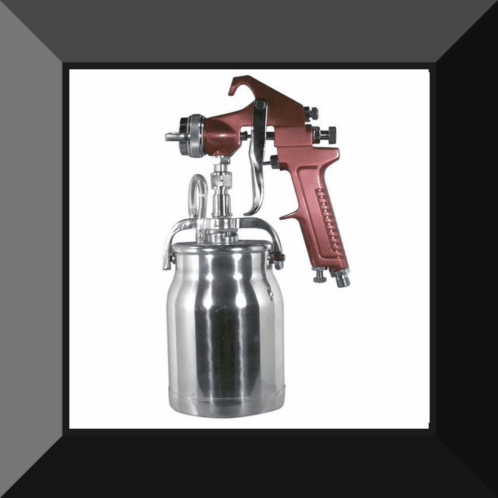 AST-4008 ASTRO PNEUMATIC Siphon Fed Spray Gun with Cup - 1.8mm Nozzle