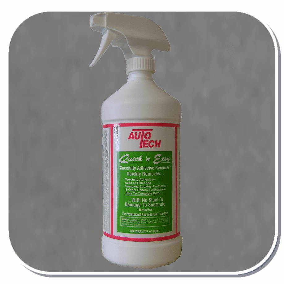AUT-13-032 AutoTech Quick & Easy Adhesive Remover Quart Pump Bottle