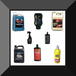 Cleaners, Compounds, Glazes, Washes, & Waxes