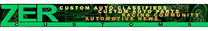 Custom Auto Classifieds, Custom Car Parts, Custom Car News, Ride Show Off. Sell your Custom Car, get the latest Custom Car News or just Show Off your Ride