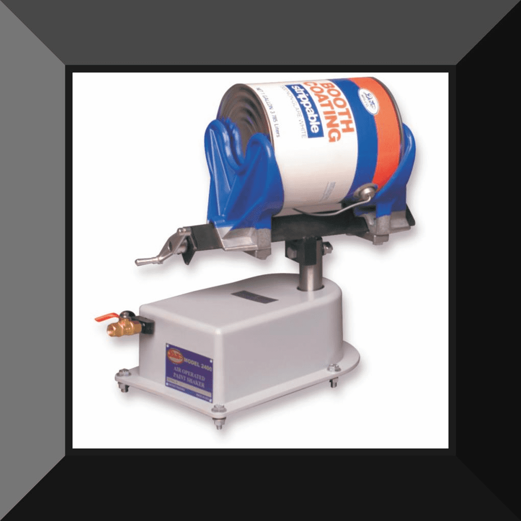 DET-2400D DETRO REGULATED AIR PAINT SHAKER