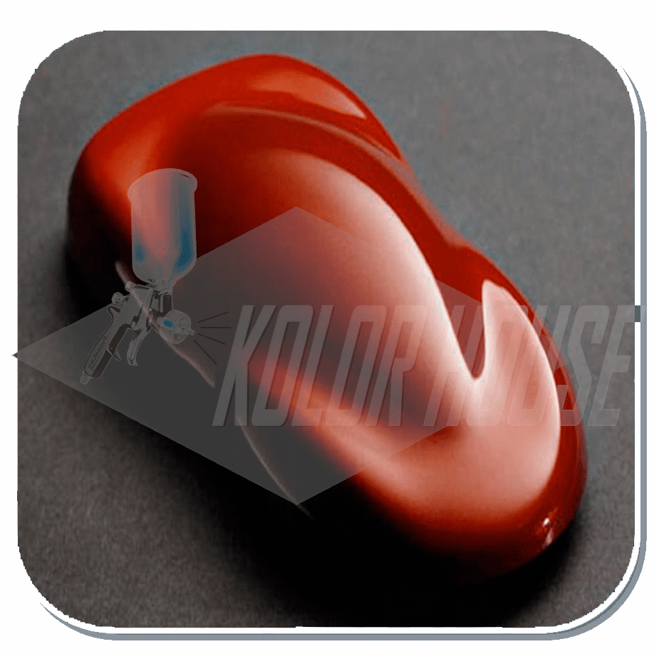 """DISCONTINUED"" HOC-KBC19 Q01 HOUSE OF KOLOR ""SCARLET"" SHIMRIN® KANDY BASE COAT QUART"