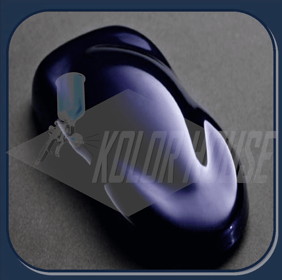 """DISCONTINUED"" HOC-PBC103 Q01 HOUSE OF KOLOR ""CORTEZ BLUE"" SHIMRIN® DESIGNER PEARL QUART"