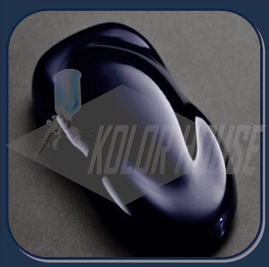 """DISCONTINUED"" HOC-PBC104 Q01 HOUSE OF KOLOR ""MIDNITE BLUE"" SHIMRIN® DESIGNER PEARL QUART"
