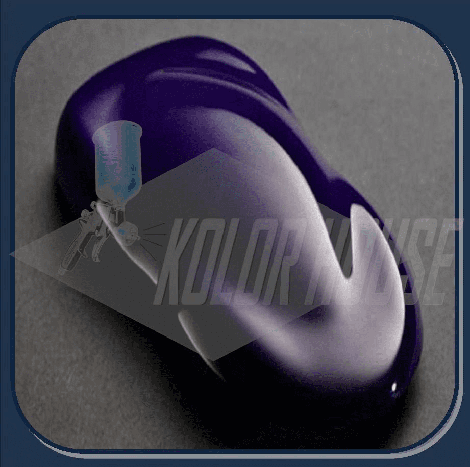 """DISCONTINUED"" HOC-SG109-II Q01 HOUSE OF KOLOR ""BURPLE-II"" SHIMRIN GRAPHIC KOLOR QUART"
