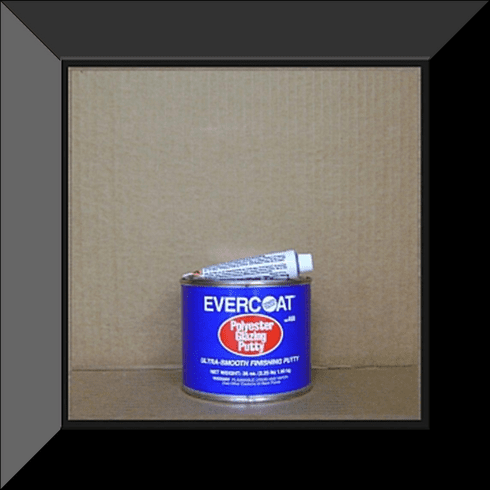 FBE-400 EVERCOAT Polyester Glazing Putty 20oz Can W/1oz Hardner