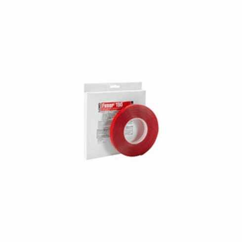 "FUS-190 Lord Fusor Clear, Double-Sided, Extra Thick Molding and Cladding Tape 1/2"" X 30"""