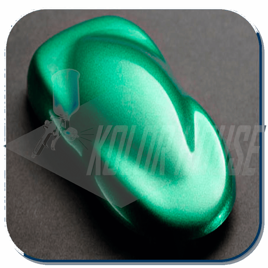 "HOC-BC09 Q01 HOUSE of  KOLOR QUART ""PLANET GREEN"" SHIMERIN BASECOAT"