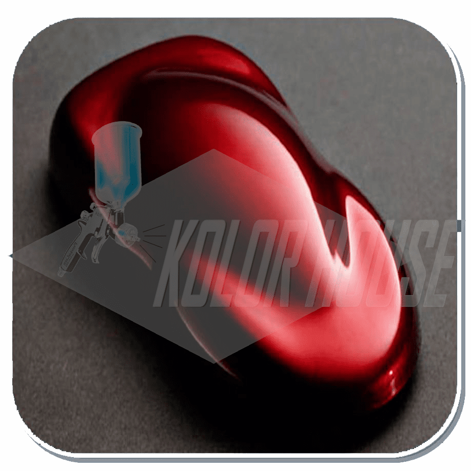 "HOC-C2C-KBC11 Q01 HOUSE OF KOLOR ""APPLE RED"" Coast to Coast Compliant SHIMRIN® KANDY BASE COAT QUART"
