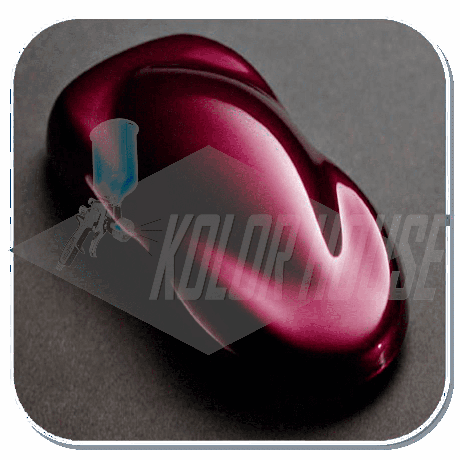 "HOC-KBC03 Q01 HOUSE OF KOLOR ""WILD CHERRY"" SHIMRIN® KANDY BASE COAT QUART"