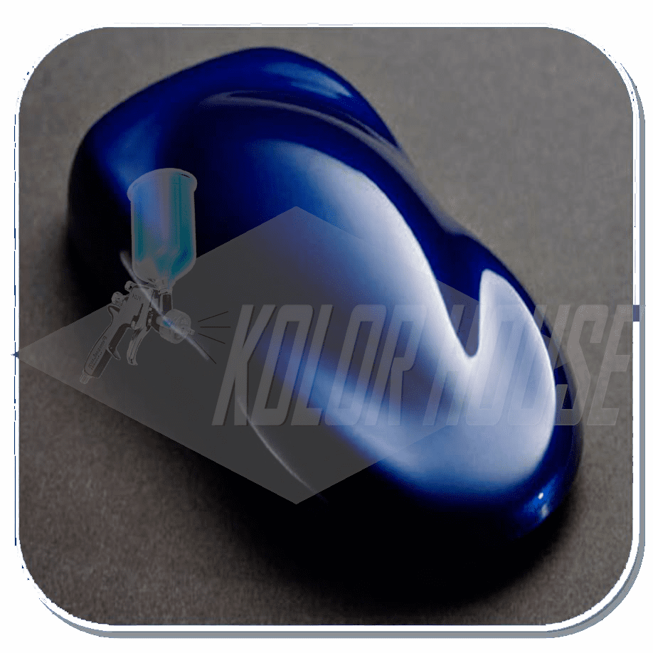 "HOC-KBC04 Q01 HOUSE OF KOLOR ""ORIENTAL BLUE"" SHIMRIN® KANDY BASE COAT QUART"