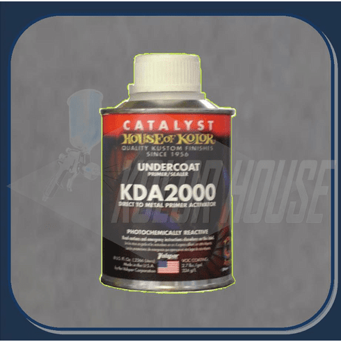 HOC-KDA2000_HP2 HOUSE OF KOLOR ACTIVATOR FOR KD SERIES DIRECT TO METAL PRIMER 1/2 PINT
