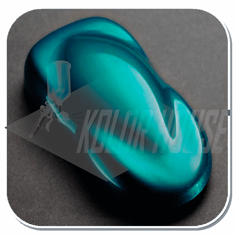 "HOC-KK15 C02 HOUSE OF KOLOR ""TEAL"" INTENSIFIER KANDY KONCENTRATE 1/2 pint"