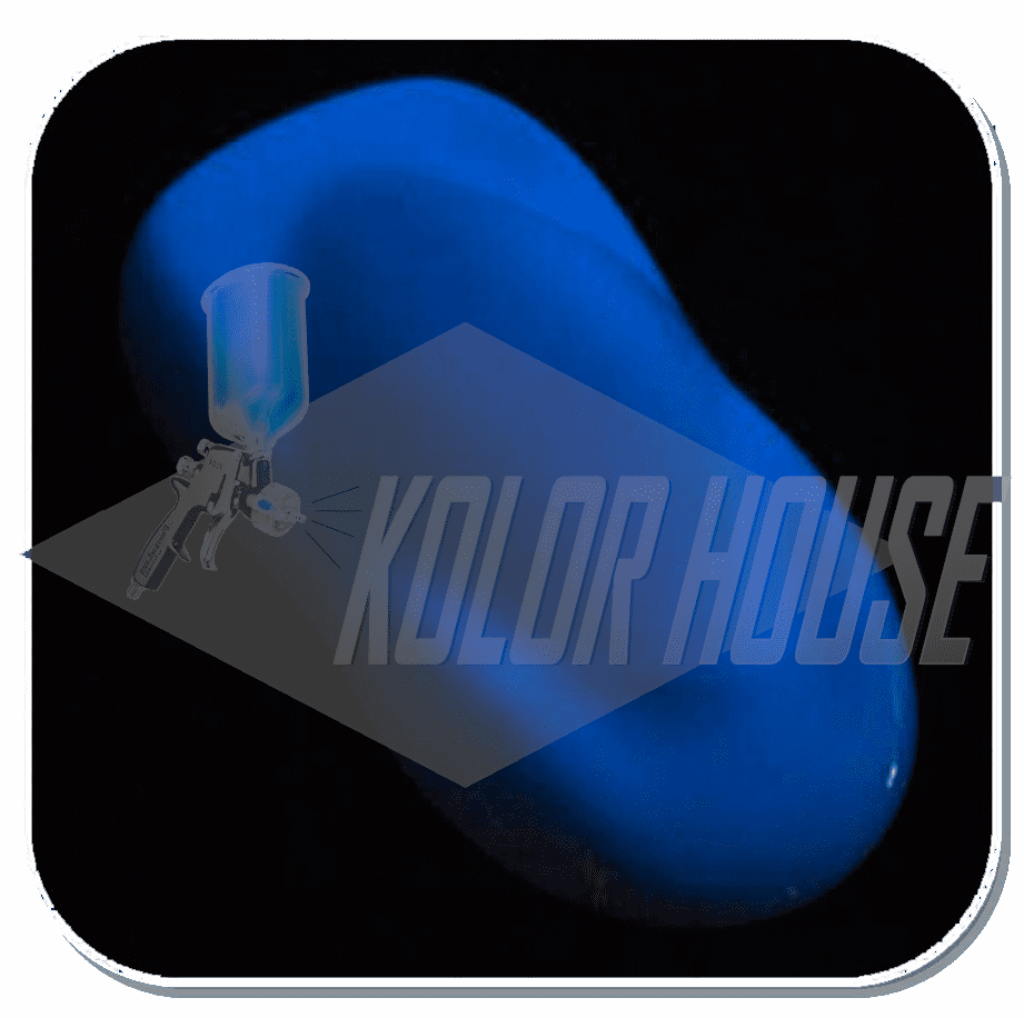 "HOC-KLG102 C01 HOUSE OF KOLOR ""BLUE"" KOSMIC LONG-GLO"