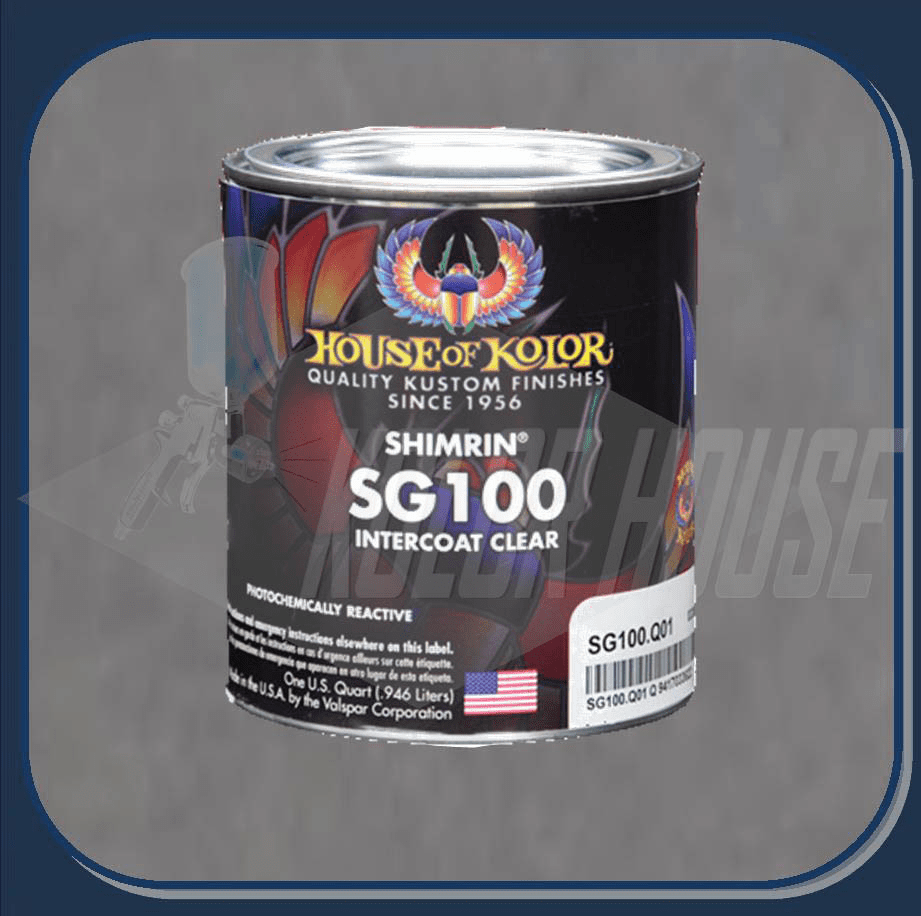 "HOC-SG100 Q01 HOUSE OF KOLOR ""INTERCOAT CLEAR"" QUART"