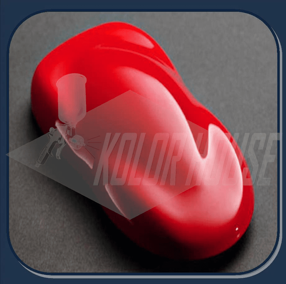 "HOC-SG104 Q01 HOUSE OF KOLOR ""EURO RED"" SHIMRIN GRAPHIC KOLOR QUART"