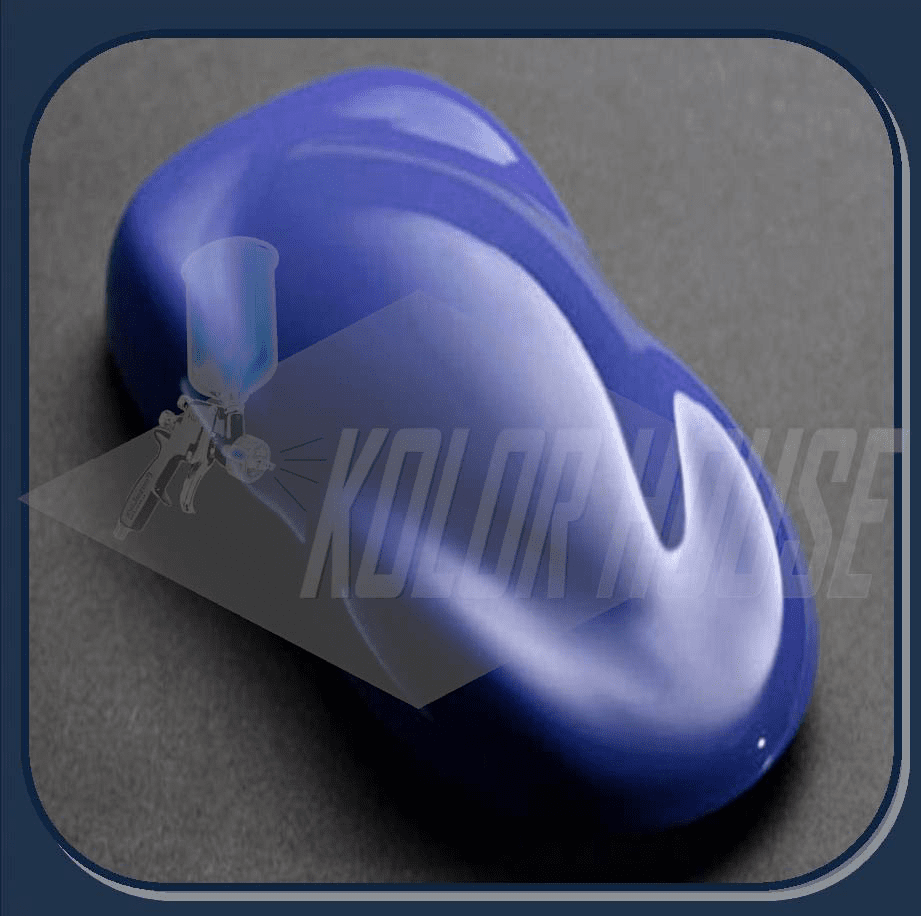 "HOC-SG108 Q01 HOUSE OF KOLOR ""SO-BLUE"" SHIMRIN GRAPHIC KOLOR QUART"