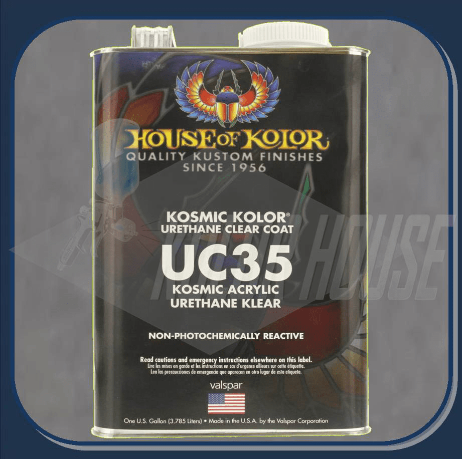 HOC-UC35 G17 HOUSE OF KOLOR KOSMIC POLYURETHANE KLEAR GALLON