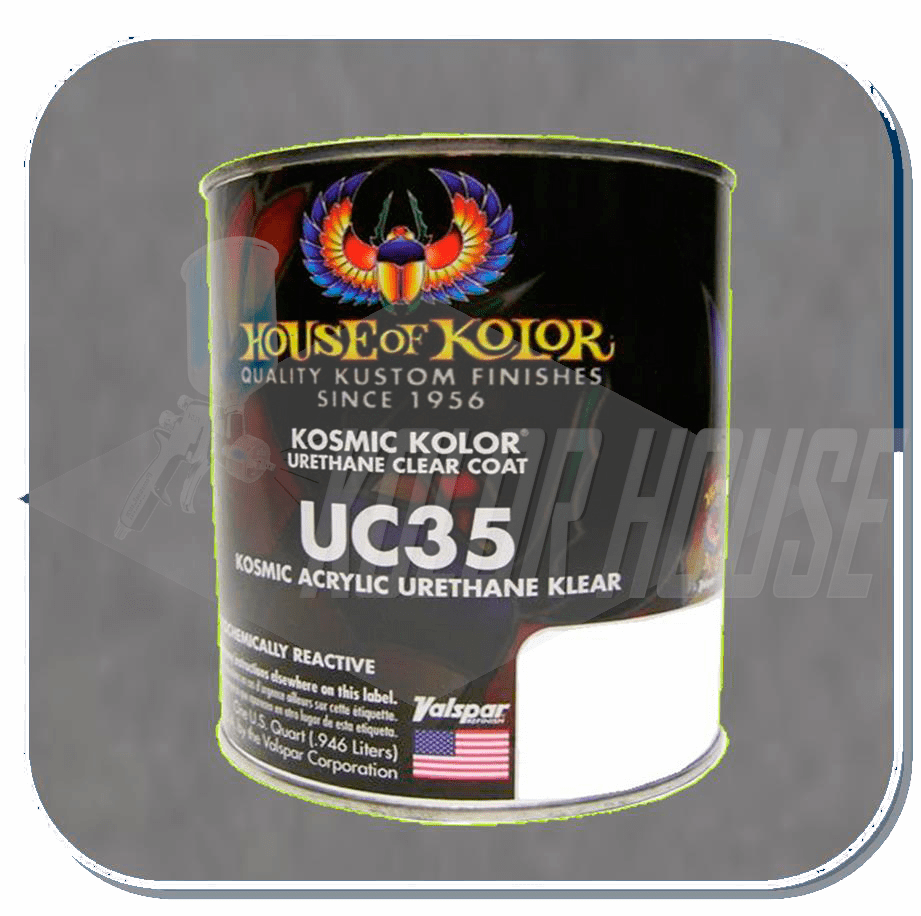HOC-UC35 Q01 HOUSE OF KOLOR KOSMIC POLYURETHANE TOP COAT KLEAR QUART