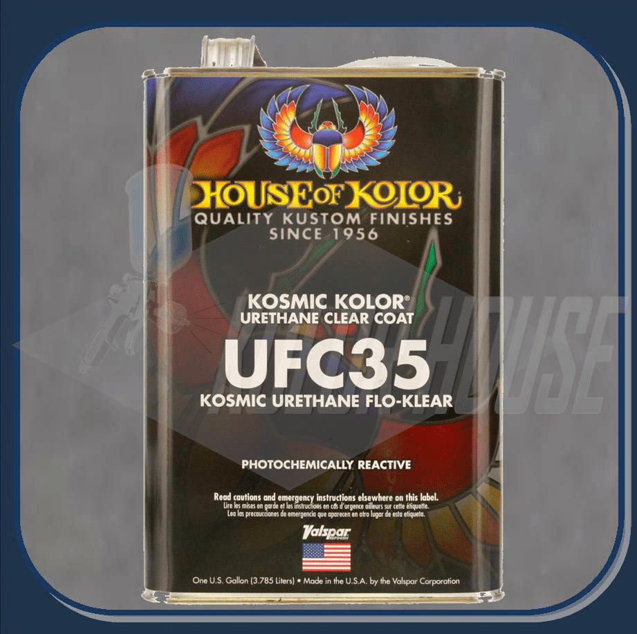 HOC-UFC35 G17 HOUSE OF KOLOR POLYURETHANE FLO-KLEAR GALLON