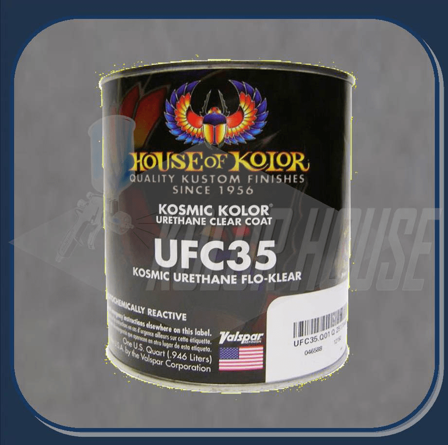 HOC-UFC35 Q01 HOUSE OF KOLOR POLYURETHANE FLO-KLEAR QUART