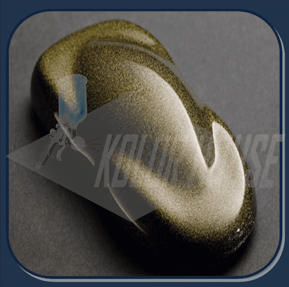 HOC-UMF01 C01 HOUSE of KOLOR ULTRA GOLD MINI FLAKE