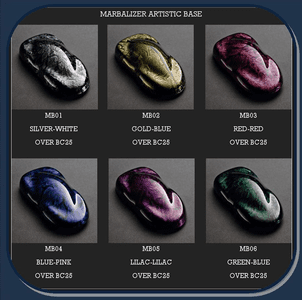 HOUSE OF KOLOR MARBLIZER® ARTISTIC BASE COATS (MB series)